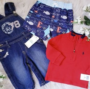 Baby Boy Essentials 6-9 Months Bundle